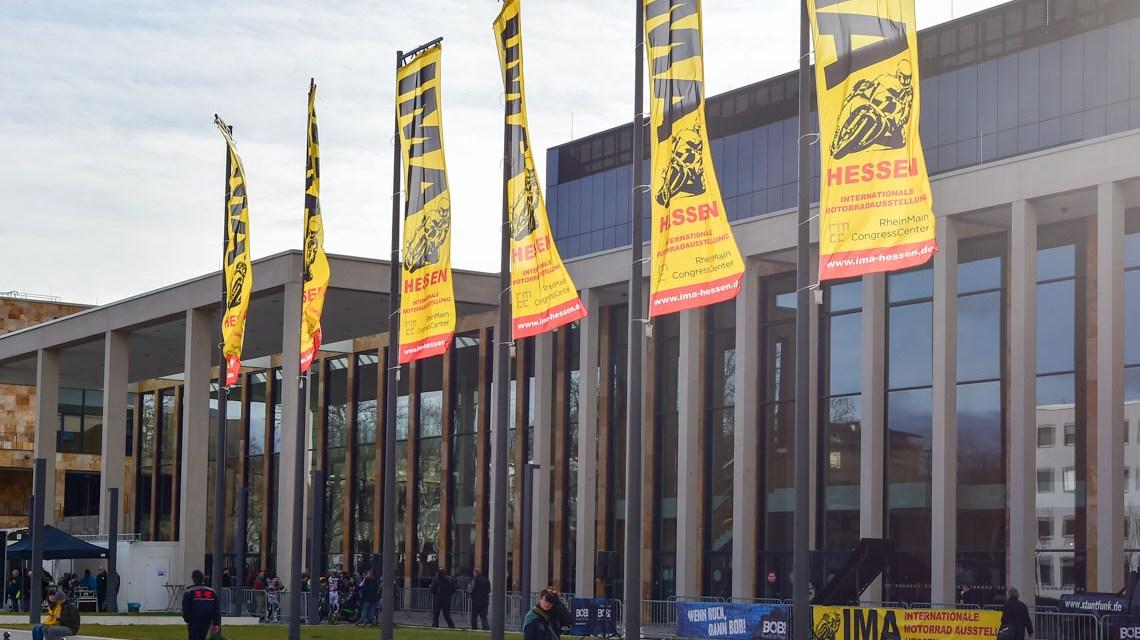 Motorrad Ausstellung IMA in Wiesbaden