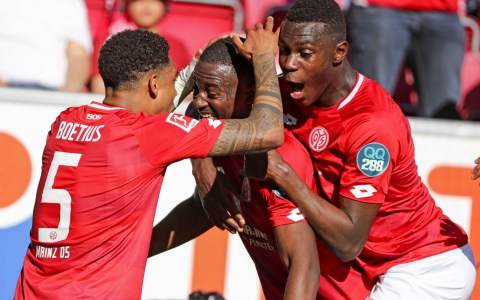 Mainz 05 gewinnt gegen Fortuna Düsseldorf