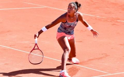 Wiesbaden Tennis Open auf der Anlage des TC Bierstadt - Tag 1 der Hauptrunde, Daniela Seguel gegen Julia Glushko
