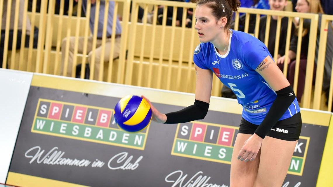VC Wiesbaden - Dresdener SC | 1. Volleyball Bundesliga | 2018 / 2019 | 3:0
