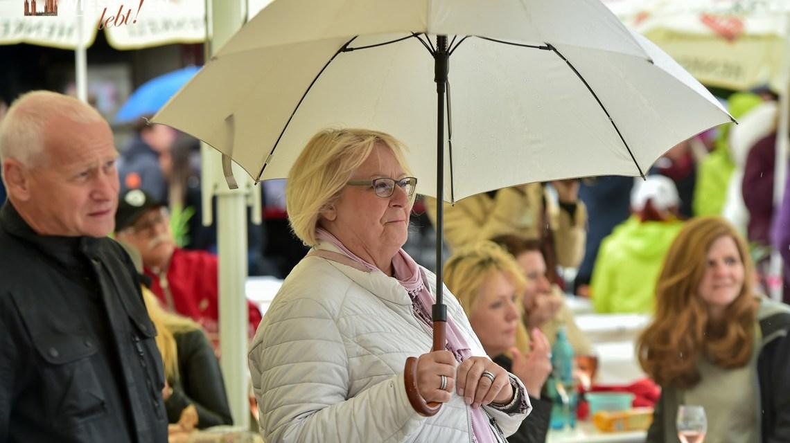 Verregneter Henkell Sekttag 2019