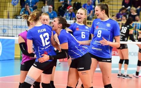 VCW - Volleyball-Bundesliga Damen | 2018.2019 | 7. Spieltag | VC Wiesbaden - Ladies in Black Aachen | 1:3 ©2018 Volker Watschounek