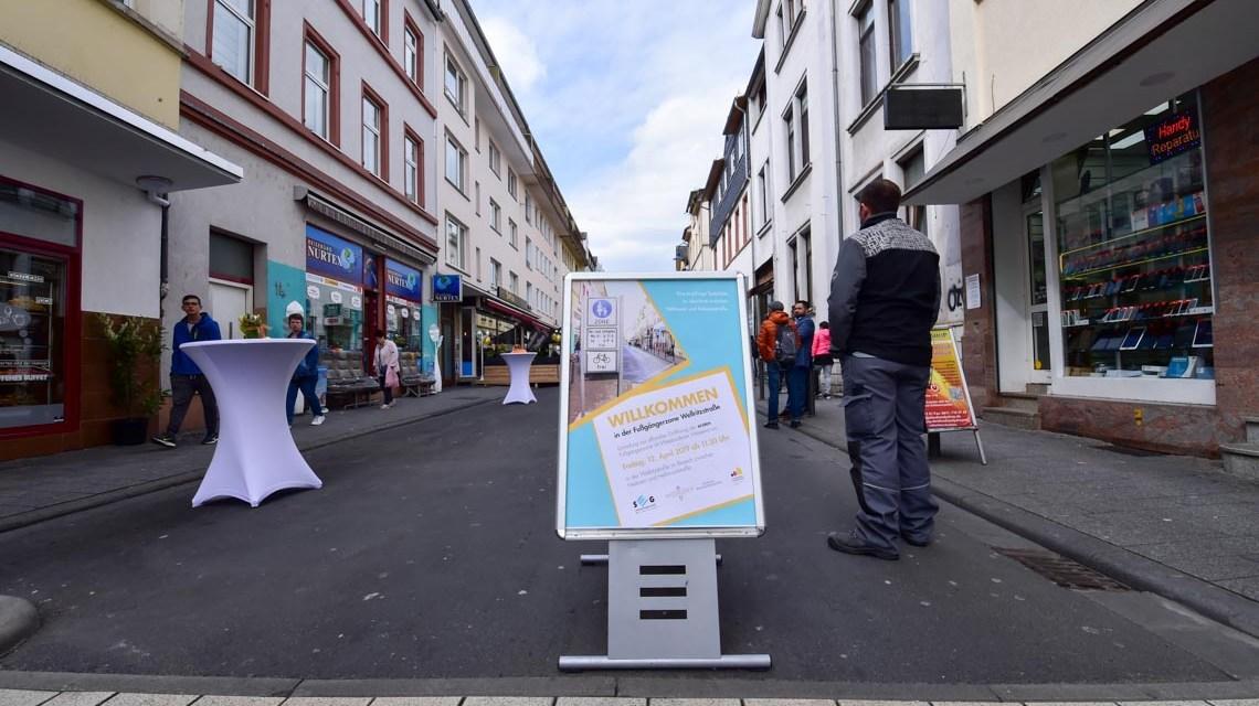 Wellritzstraße wird zur Fußgängerzone