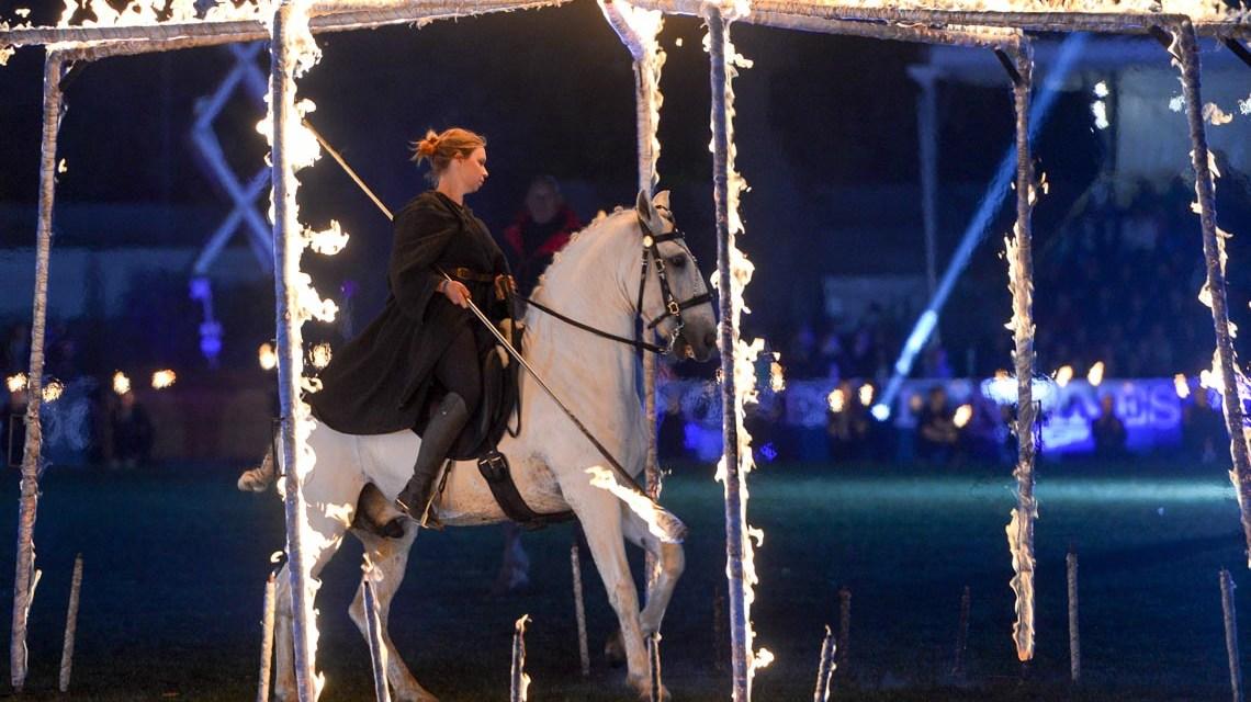 Erinnerungen: Das war die 25. Wiesbadener Pferdenacht