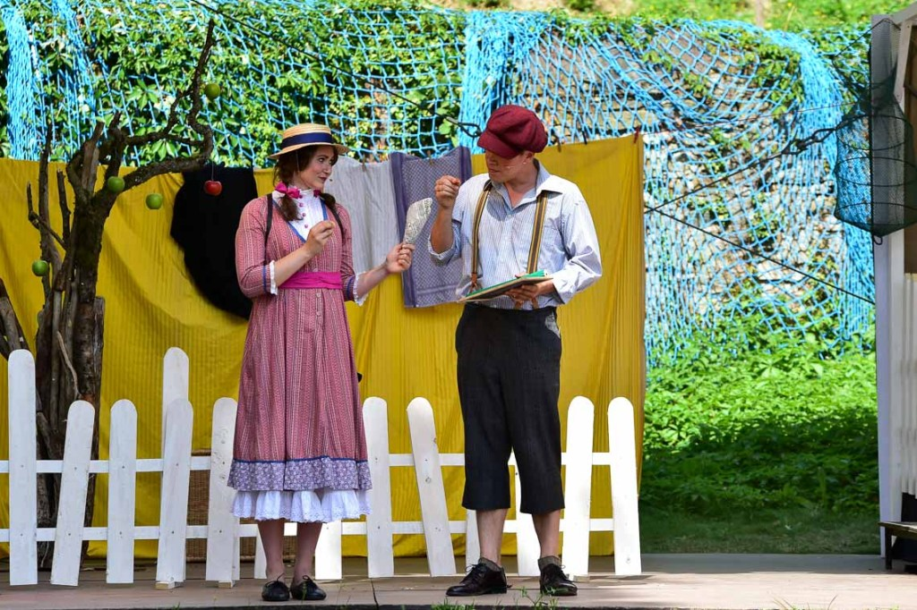 Tom Sawyer bei den Burgfestspielen Sonnenberg