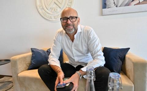 Markus Hankammer, der erste Vorsitzende des SVWW im Interview mit Volker Watschounek.