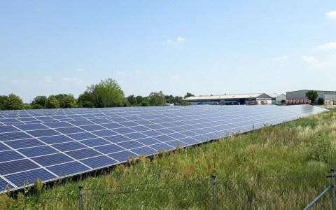 ESWE Versorgung baut Photovoltaik aus. ©2019 ESSWE Versorgungs AG