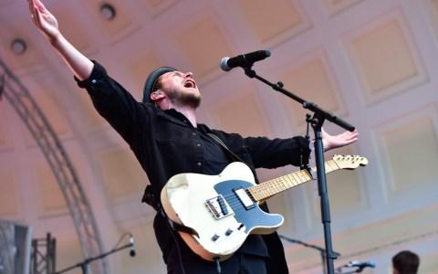 Johannes Oerding beim Rheingau Musik Festival in Wiesbaden. ©2019 Volker Watschounek