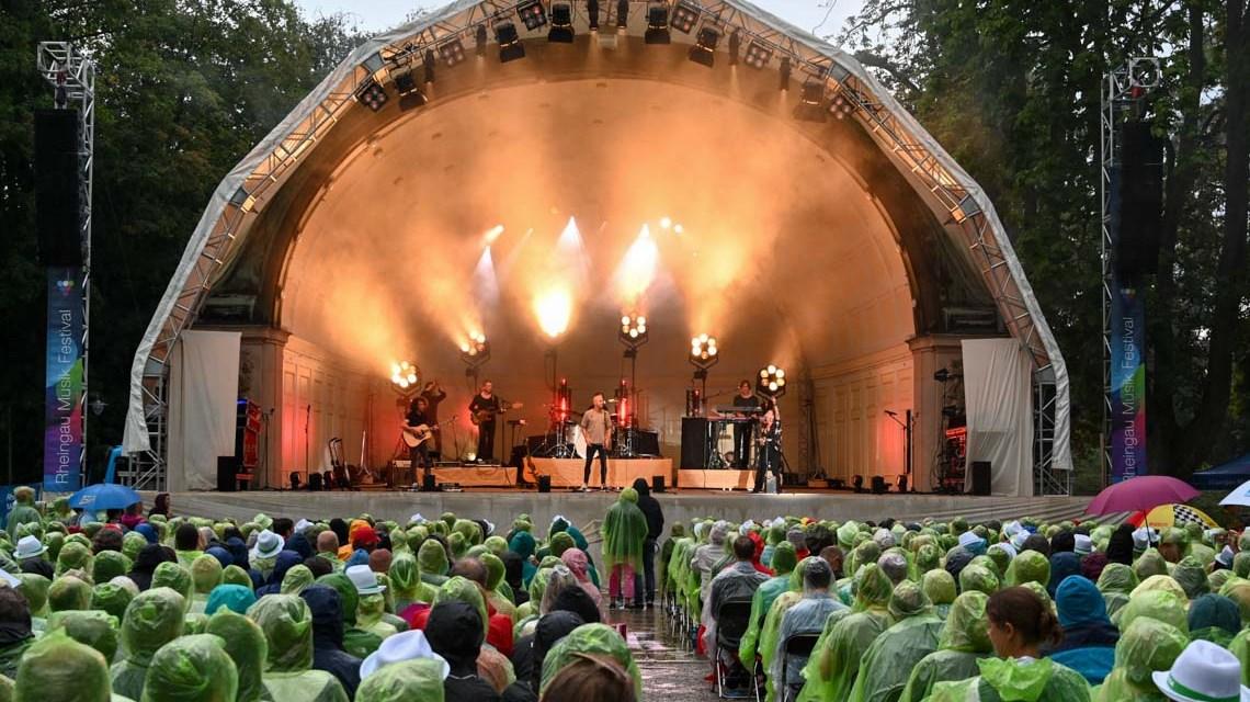 Milow begeistert beim 32. Rheingau Musik Festival