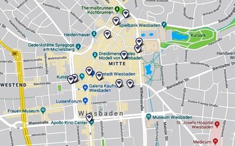 WLAN Abdeckung in Wiesbaden. Kostenfrei