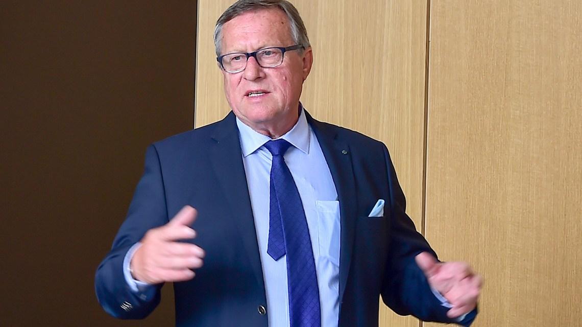 Detlev Bendel wird Citybahn-Ombudsmann für die Wirtschaft ©2018 Volker Watschounek