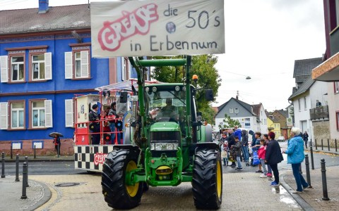 Erbenheimer Kerb, Umzug