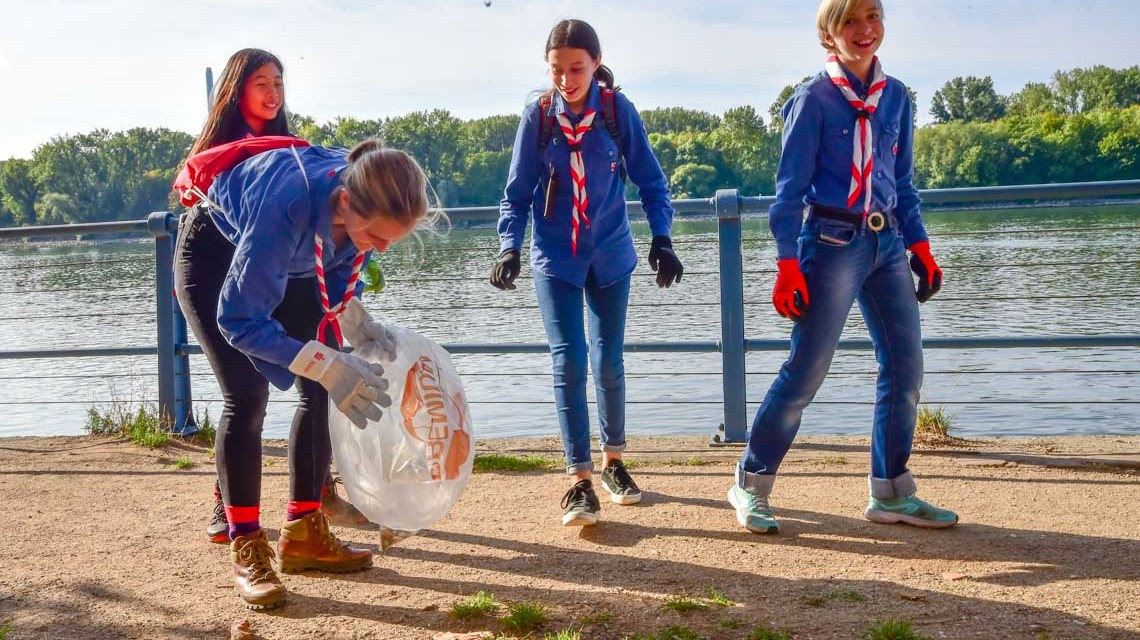 Rhine Cleanup: Gemeinsam etwas bewegen