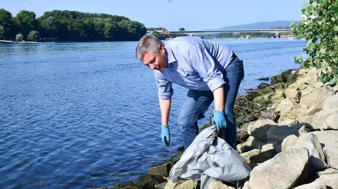 Rhine Clean Up: Gemeinsam etwas bewegen