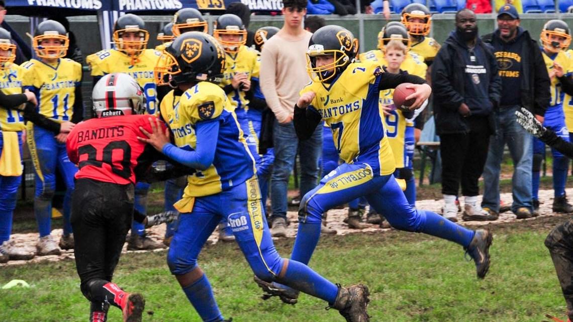 U13 feiert Meisterschaft in der Landesliga ©2019 Phantoms