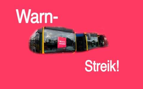 Streik, Warnstreik in und um Wiesbaden