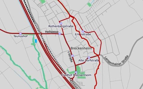 Klingenbach, Openstreetmap