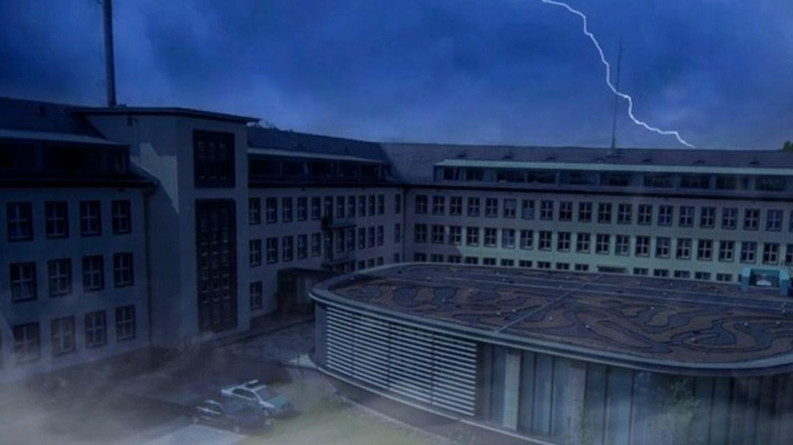Nachts im Polizeipräsidium Westhessen in Wiesbaden. @2019 Bild Polizeipräsidium