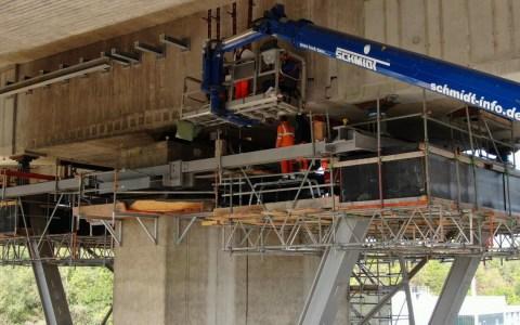 A 66 Salzbachtalbrücke: Wechselverkexhrsführung ab 11. November