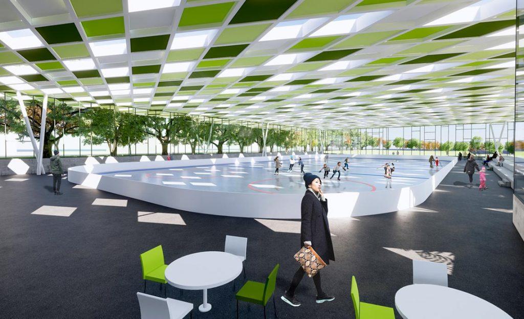 Sportpark Rheinhöhe ©2019 Planungsbüro deyle