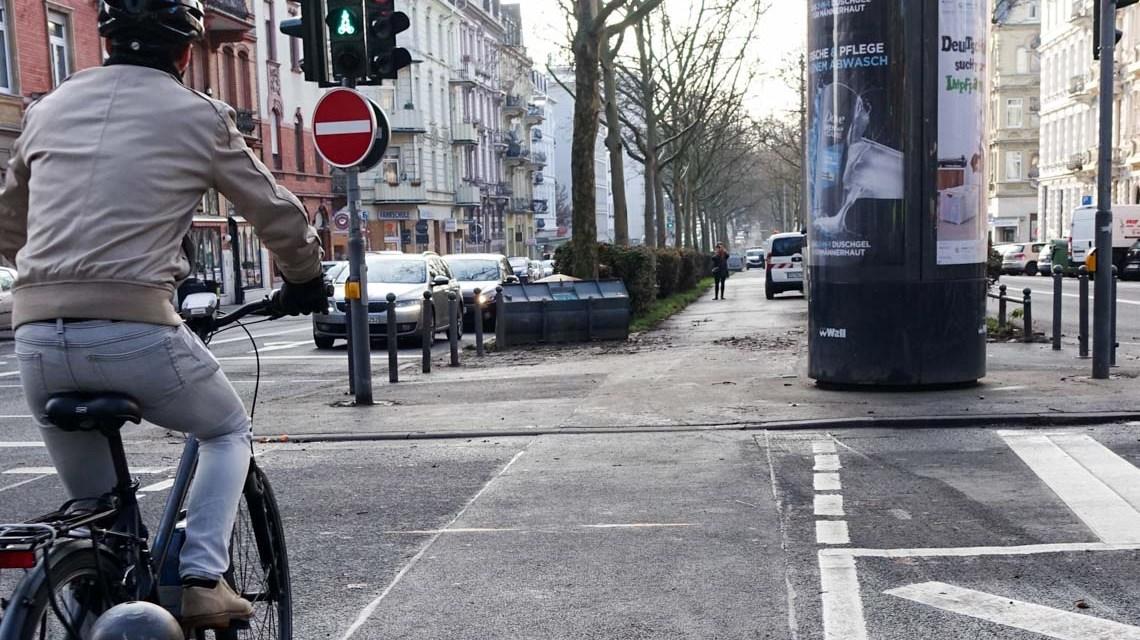 Radweg, Neue Wege für Radverkehr auf dem ersten Ring