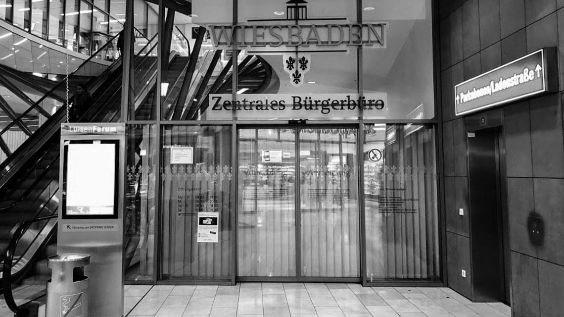 Stadtverwaltung, Zentrales Bürgerbüro Wiesbaden