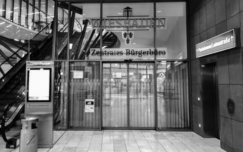 Services, Stadtverwaltung, Zentrales Bürgerbüro Wiesbaden