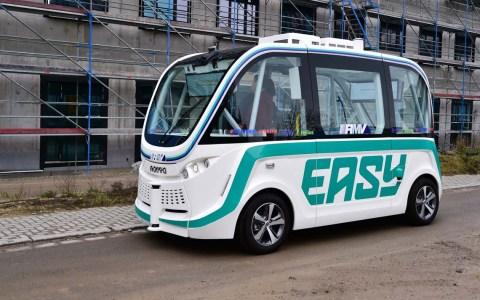 Erstes autonomes Fahrzeug in Wiesbaden
