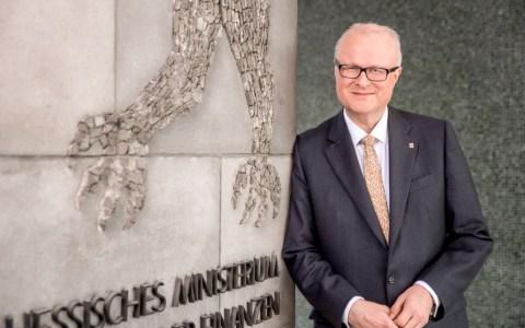Hessens Finanzminister Dr. Thomas Schäfer