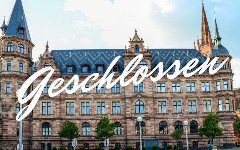 Coronavirus schränkt Leben ins Wiesbaden ein.