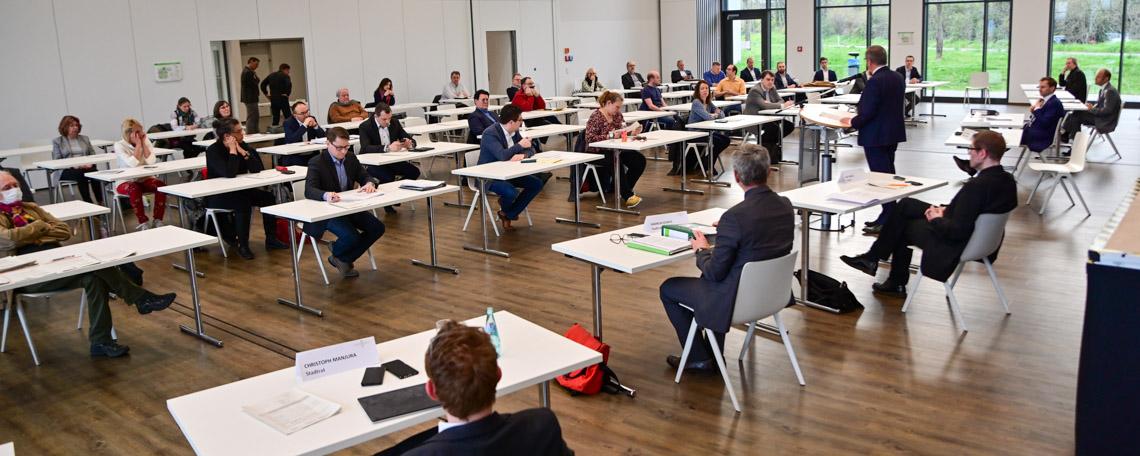 Stadtverordnetenversammlung im Haus der Vereine in Dotzheim
