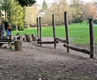 Spielplatz, Streifzug Ende Dezember durch die Nerotal-Anlagen.