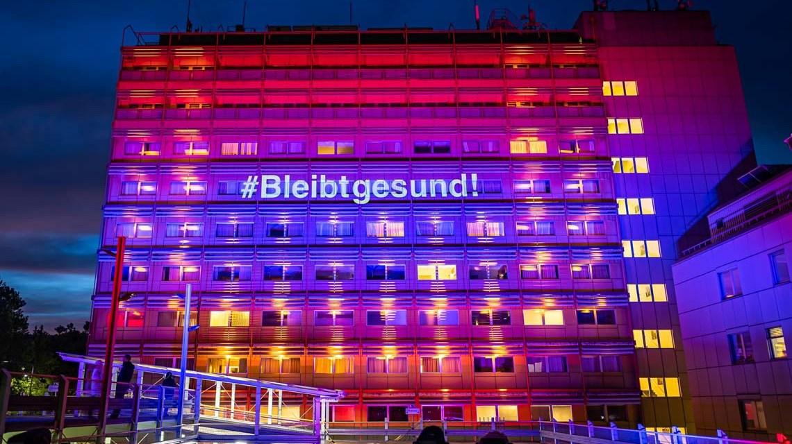 Wiesbadenleuchtet, Pauline sagt Danke @Asklepios Paulina Krankenhaus