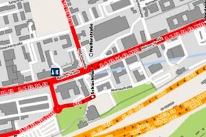 Mainzer Straße, Welfenstraße ©2020 Openstreetmap