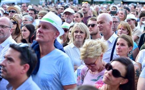 Open Air Konzert im Kurpark
