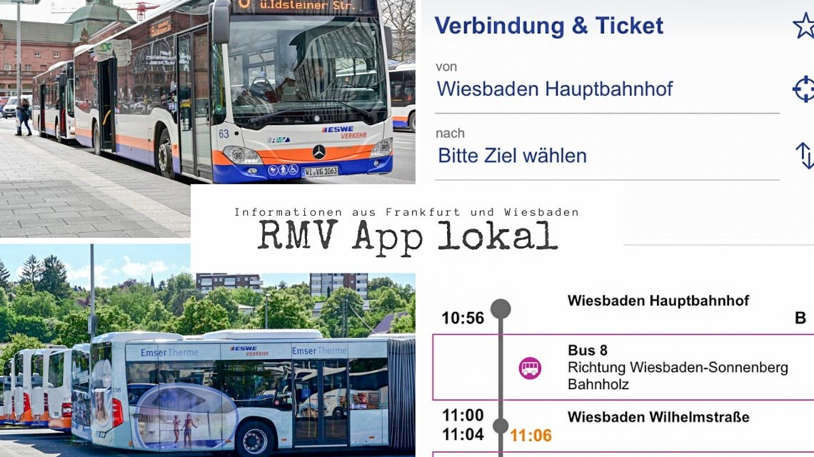 RMV App lokal