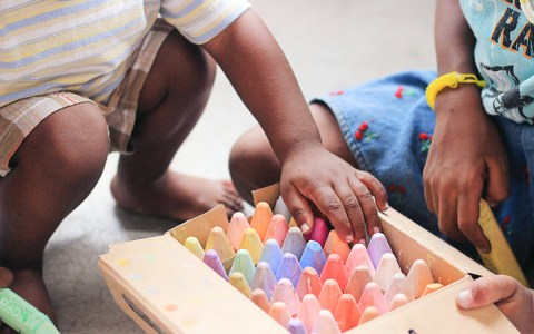 Kindermalerei Kunst ©2020 StockSnap auf Pixabay