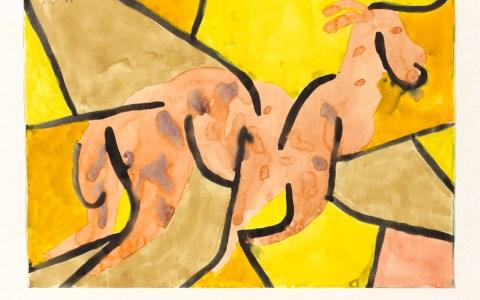 Paul Klee: Ausbrechender Bock, 1939 Aquarell auf Papier auf Karton Privatbesitz Schweiz, Depositum im Zentrum Paul Klee, Bern