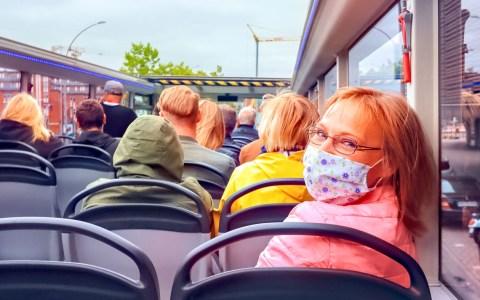 Maskenpflicht ©2020 Marek Studzinski auf Pixabay