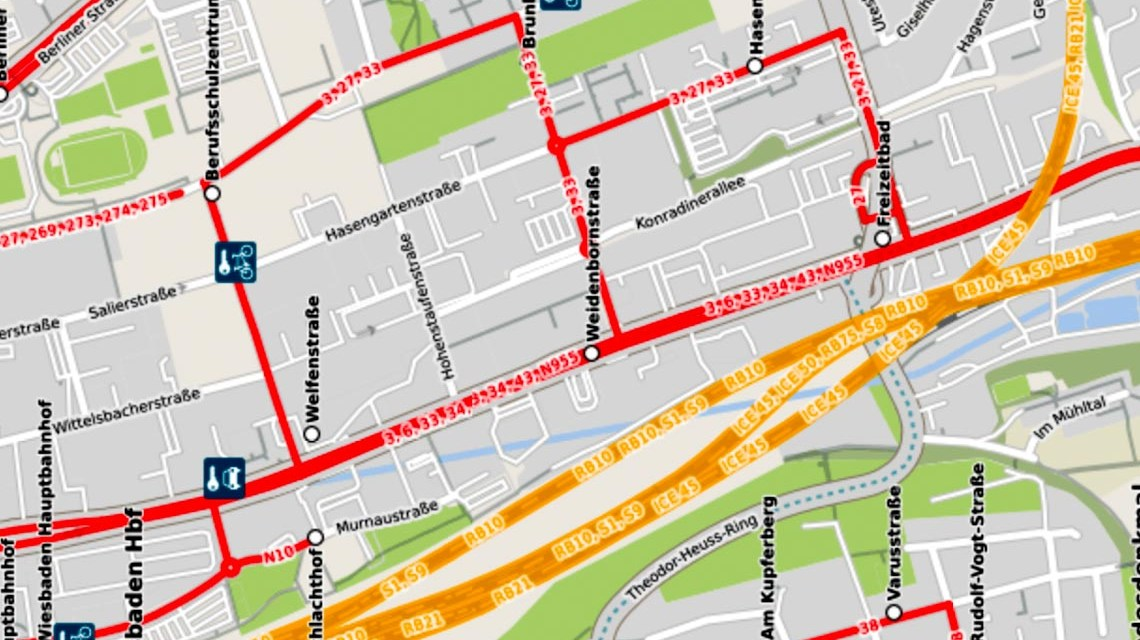 Mainzer Straße Foto: Openstreetmap