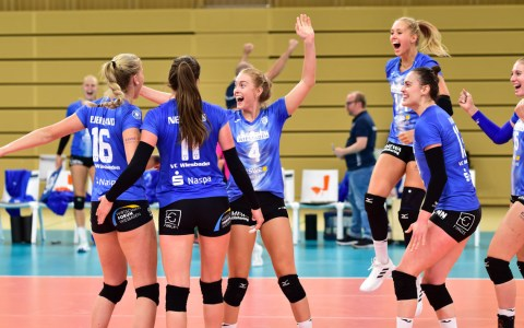 VC Wiesbaden - Ladies in Black, 3:2