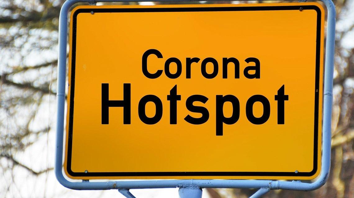 Corona Hotspot©2020 Pixabay / Geralt