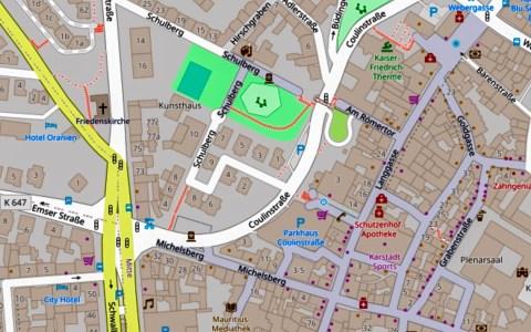 Vollsperrung Coulinstraße