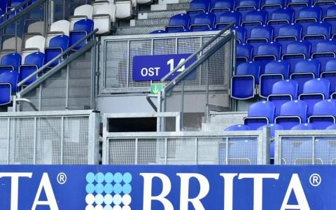 Das Heimspiel des Fußball-Drittligisten gegen Waldhof Mannheim findet am Samstag ohne Zuschauer in der Brita-Arena stattfindenwird.