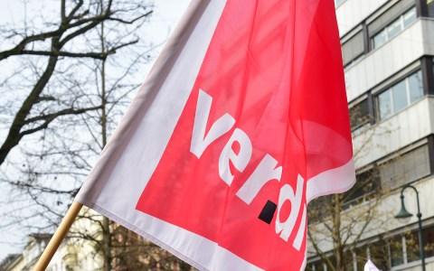 verdi: Montag Warnstreiks in Wiesbaden