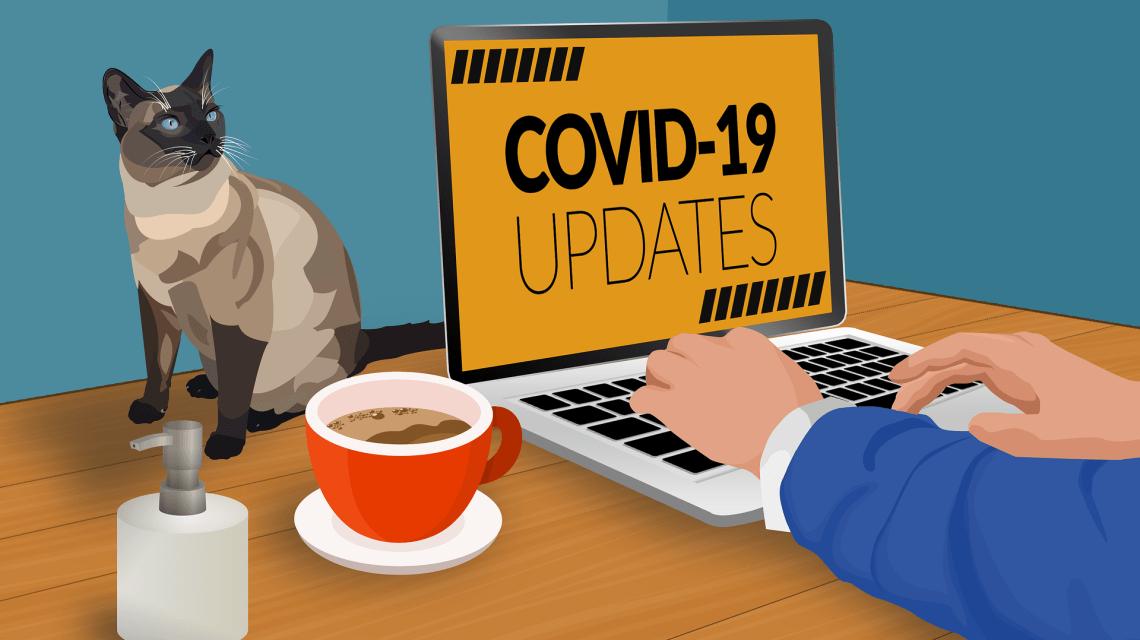 Corona Update ©2020 thedarknut auf Pixabay