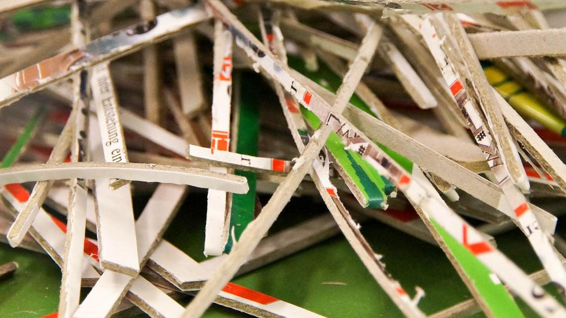 Recycling-Papier, Altpapier ©2020 Monsterkoi auf Pixabay