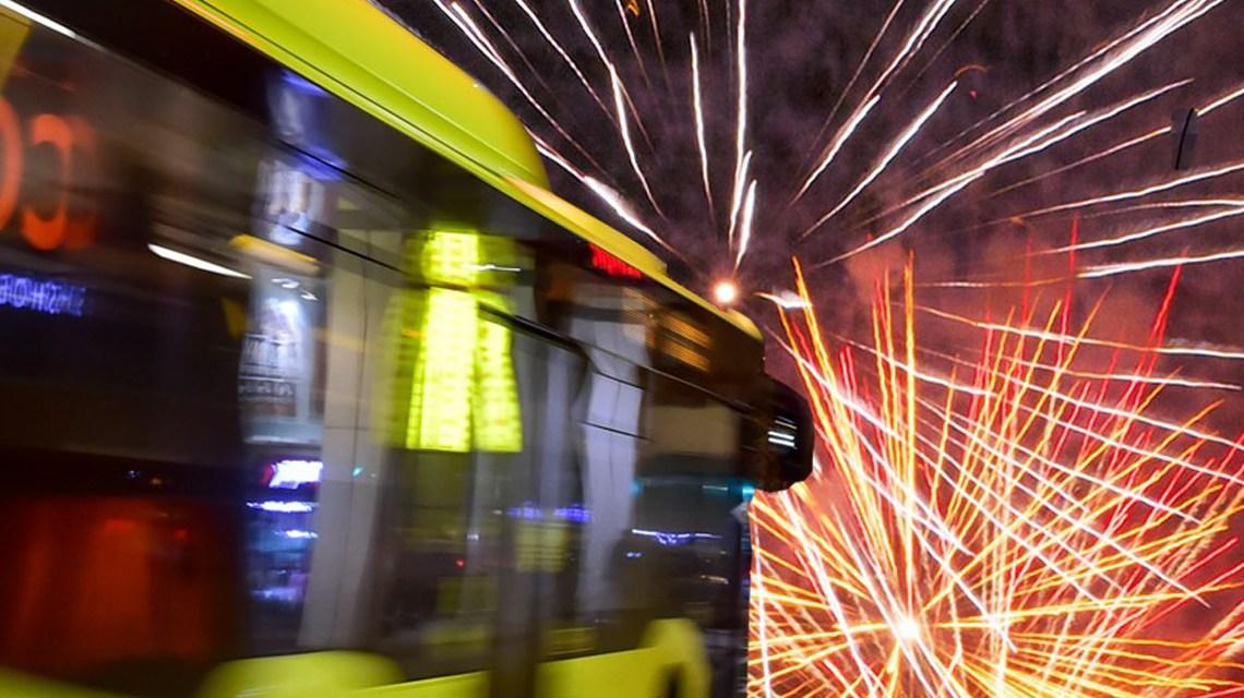Fahrplanregelungen von ESWE Verkehr an Silvester und im neuen Jahr