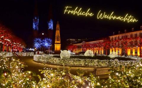 Wiesbaden lebt! wünscht fröhliche Weihnachten!