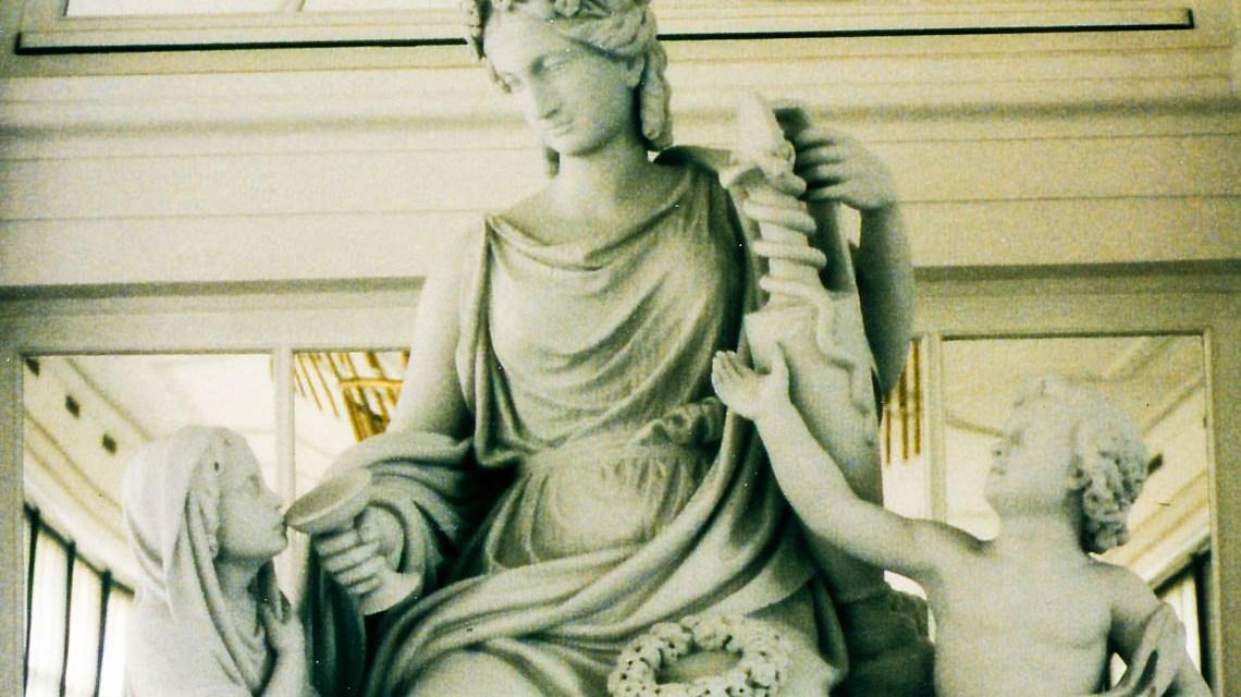 Hygieia Skulptur | Foto: Brigitte Forßbohm, Hygieia-Gruppe 1996
